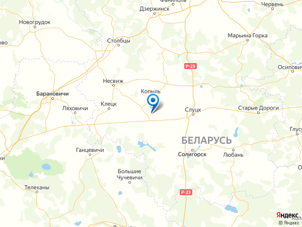 посёлок Новинки на карте