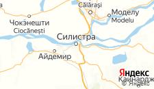 Отели города Силистра на карте
