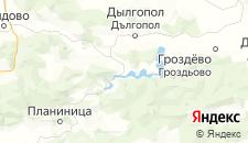 Частный сектор города Аспарухово (Варненская область) на карте