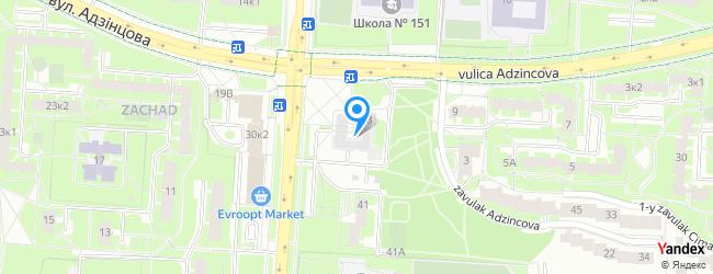 2nd central district polyclinic of Frunzienski district of Minsk