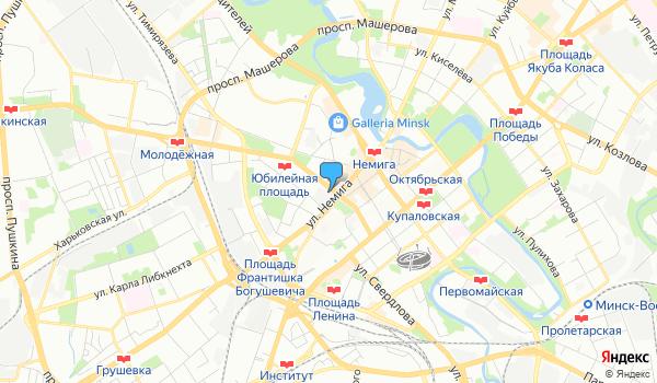 Офис Музенидис Тревел на карте