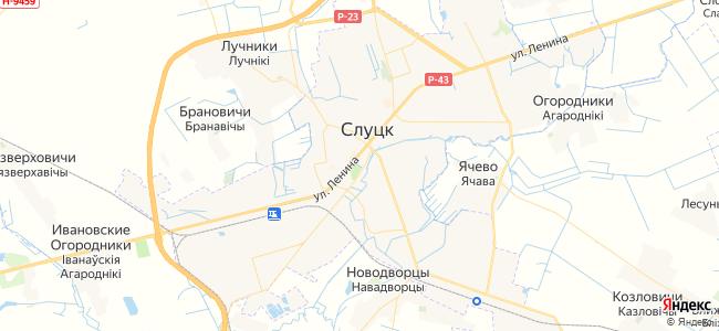 Гостиницы Слуцка - объекты на карте