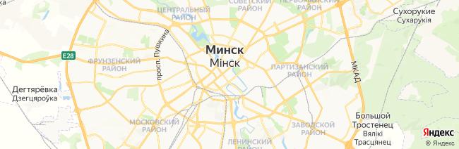 Минск на карте
