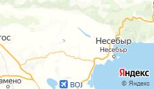 Отели города Медово на карте