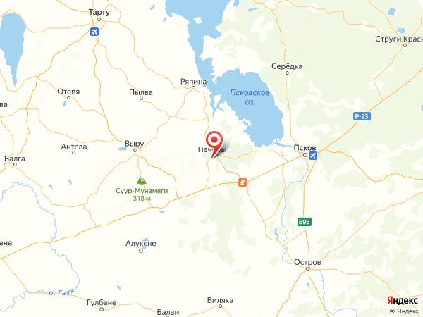деревня Новые Бутырки на карте