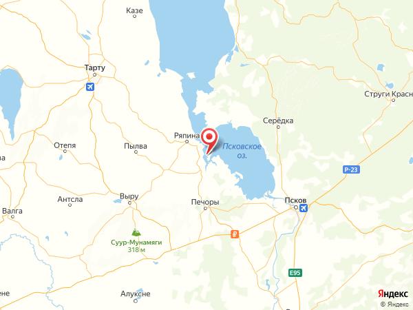 деревня Колпино на карте
