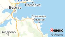 Отели города Черноморец на карте