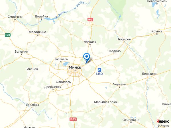 Жуков Луг на карте