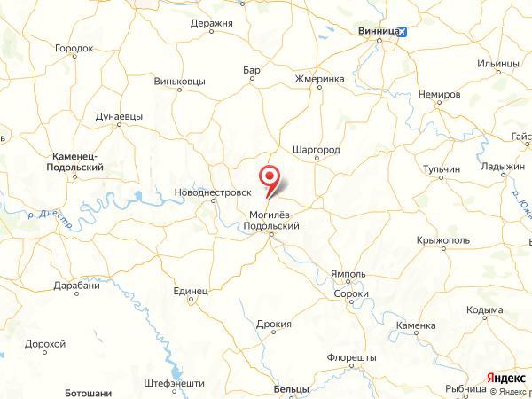 село Подлесное на карте