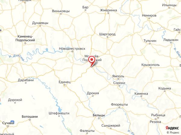 деревня Берёзовка на карте