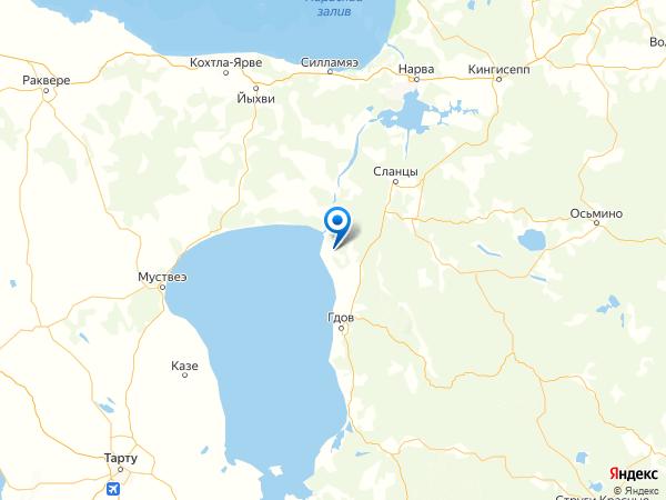 поселок Орел на карте