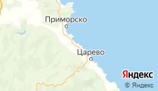 Отели города Лозенец на карте