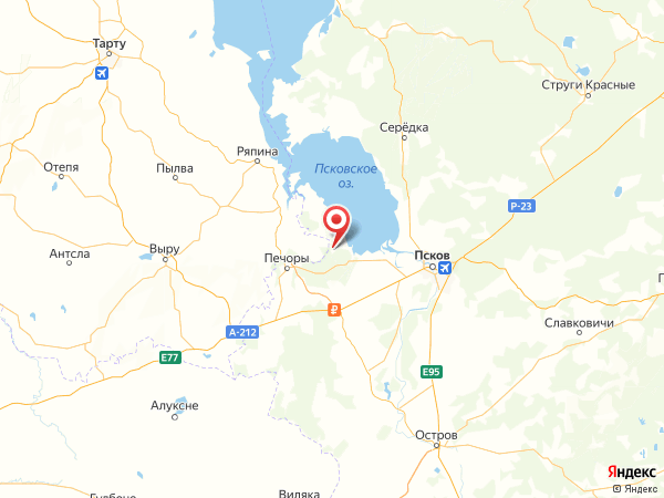 деревня Ступино на карте