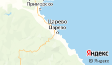 Отели города Царево на карте