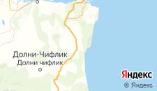 Отели города Близнаци на карте
