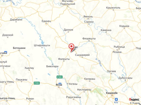 деревня Поповка на карте