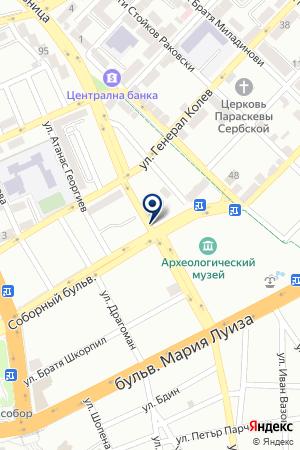 ВАРНЕНСКИЙ ПРОИЗВОДСТВЕННЫЙ УЧАСТОК на карте Варны