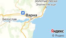 Отели города Варна (Северо-Восточная Болгария) на карте