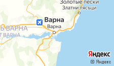 Отели города Варна на карте