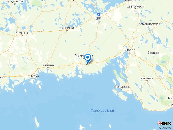 поселок Торфяновка на карте