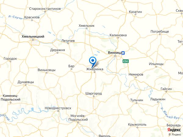 село Ров на карте