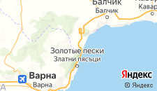 Отели города Кранево на карте