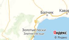 Отели города Оброчиште на карте