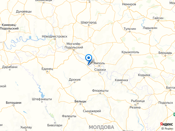 село Валя на карте