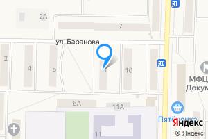 Двухкомнатная квартира в Сланцах улица Баранова, 8