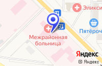 Схема проезда до компании СЛАНЦЕВСКАЯ ЦЕНТРАЛЬНАЯ РАЙОННАЯ БОЛЬНИЦА в Сланцах