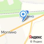 Моглино на карте Пскова