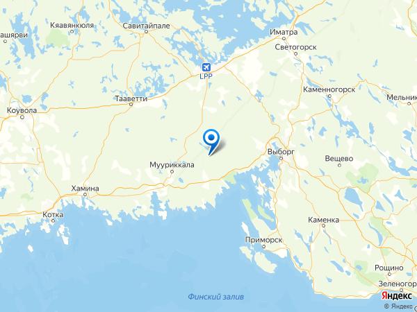 урочище Андреевское на карте