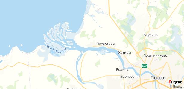 Загорицы на карте