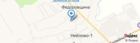 Территория уюта 60 на карте Фёдоровщиной