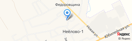 Терем Комфорт на карте Фёдоровщиной