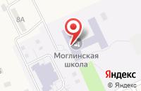 Схема проезда до компании Моглинская средняя общеобразовательная школа в Неелово 2-е