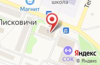 Схема проезда до компании Псковская районная библиотека в Писковичах