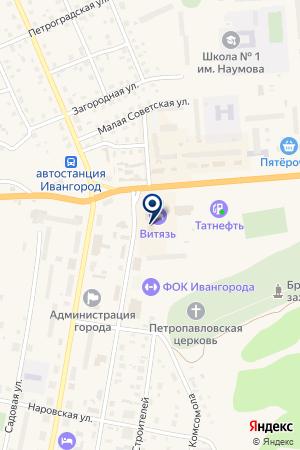 РИЭЛТЕРСКАЯ КОМПАНИЯ НЕВСКАЯ СЛОБОДА на карте Киришей