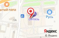 Схема проезда до компании Гостиница «Витязь» в Ивангороде