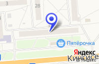 Схема проезда до компании ПРОМТОВАРНЫЙ МАГАЗИН ТУРИСТ в Ивангороде