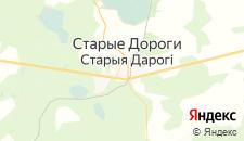 Гостиницы города Старые Дороги на карте
