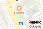 Схема проезда до компании Псковская федерация тхэквондо в Борисовичах