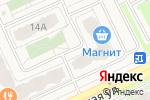 Схема проезда до компании Стройиндустрия в Борисовичах