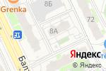 Схема проезда до компании Окна TriO в Борисовичах