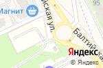Схема проезда до компании Автостоянка в Борисовичах