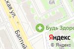 Схема проезда до компании Продуктовый магазин в Борисовичах