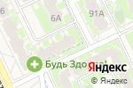 Схема проезда до компании Умняшка в Борисовичах