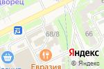 Схема проезда до компании Магазин одежды и обуви в Пскове