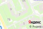 Схема проезда до компании Mobilis в Пскове