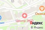 Схема проезда до компании ДАР в Борисовичах